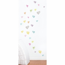Light Hearts Peel & Stick Wall Decals