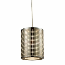 Lightgrid Mini Pendant In Satin Nickel