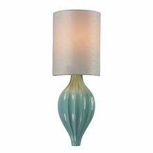 Lilliana Sconce In Seafoam And Aged Silver