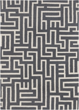 Lima Maze Flatweave Rug in Gray