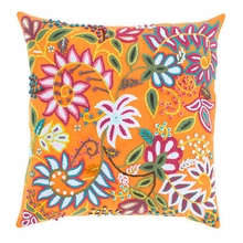 Lima Orange Decorative Pillow