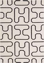 Lima Shapes Flatweave Rug in Ivory