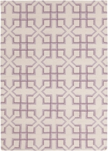 Lima X Marks the Spot Flatweave Rug in Lilac