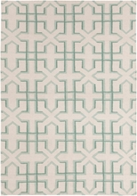 Lima X Marks the Spot Flatweave Rug in Mint