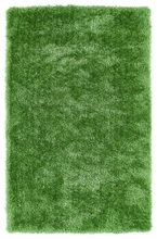 Lime Green Posh Shag Rug