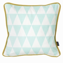 Little Geometry Pillow in Mint