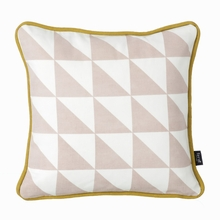 Little Geometry Pillow in Rose