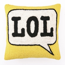 LOL Hook Pillow