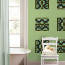 Loopy Blox Wall Decals - Blue & Green