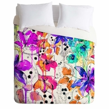 Lost In Botanica 1 Lightweight Duvet Cover