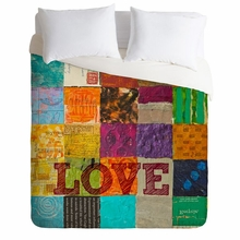 Love Lightweight Duvet Cover