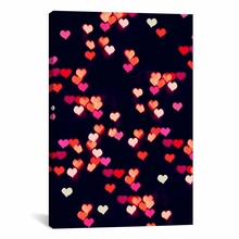 Love Lights Canvas Wall Art