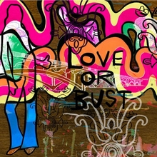 Love or Bust Poster Wall Decal