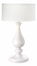 Lucky Table Lamp Base in White