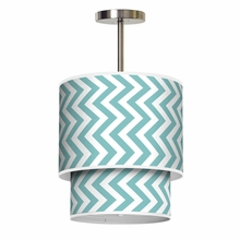Lumiere Vertical Chevron Pendant