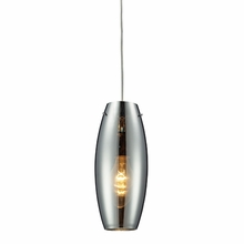 Luna Pendant In Polished Chrome