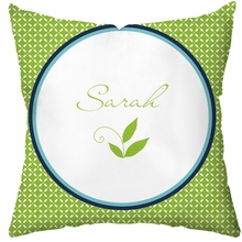 Lush Personalized Throw Pillow