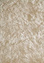 Luster Shag Rug in White