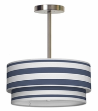 Luther Cabana Stripes Pendant