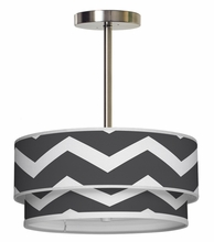 Luther Chevron Pendant