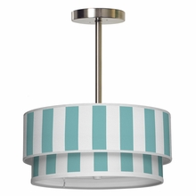 Luther Vertical Stripes Pendant