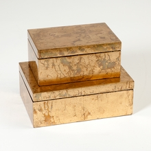 Luxe Gold Leaf Box