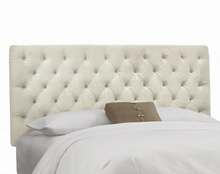 Luxe Tufted Upholstered Headboard