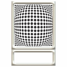 Mad For Pop Dots Headboard Wall Decal for Twin Bed