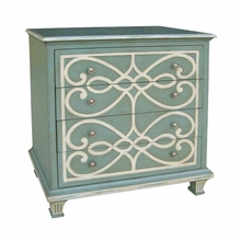 Madeleine Blue Painted Cabinet