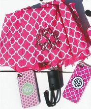 Magenta Moroccan Umbrella