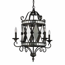 Mariana Chandelier In Blackened Silver