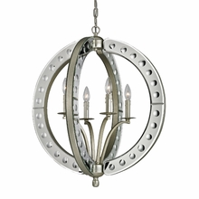 Mariana Pendant In Speckled Silver