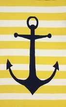 Marigot Anchor Rug in Sunflower
