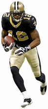 Marques Colston Fathead Jr. Wall Decal
