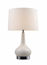 Mary-Kate and Ashley Continuum Table Lamp in White