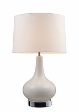 Mary-Kate and Ashley Continuum Tall Table Lamp in White