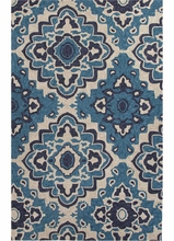 Medallion Rug in Blue