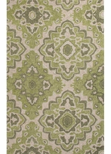 Medallion Rug in Green