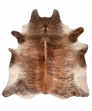 Medium Brindle Hide Rug