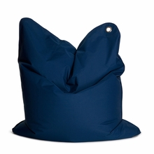 Medium Bull Dark Blue Bean Bag Chair