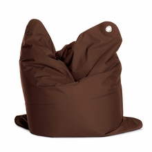 Medium Bull Dark Brown Bean Bag Chair