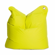 Medium Bull Lime Green Bean Bag Chair