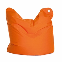 Medium Bull Orange Bean Bag Chair