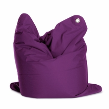 Medium Bull Violet Bean Bag Chair