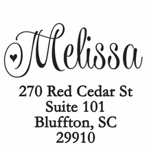 Melissa Personalized Self-Inking Stamp