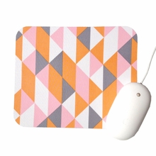 Melon Geomertric Mouse Pad