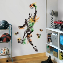 Men's Basketball Champion Peel and Stick Giant Wall Decals
