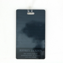 Menswear Personalized Luggage Tag Set