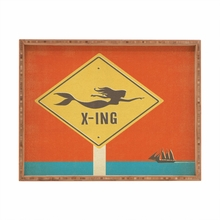Mermaid X Ing Rectangular Tray