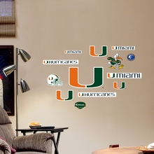 Miami Logo Wall Decals